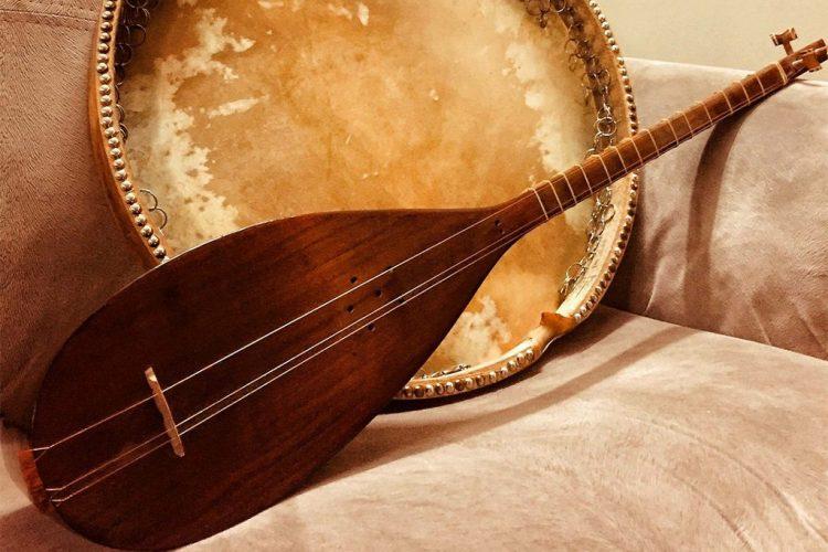 اجرای موسیقی در مراسم ترحیم عرفانی