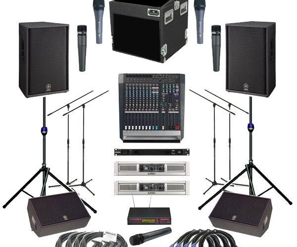 اجاره سیستم های صوتی حرفه ای